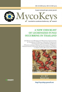 A new checklist of lichenized fungi occurring in Thailand (2017)-K Buaruang