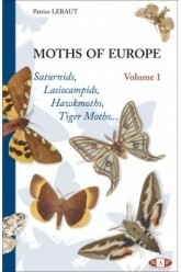 Moths of Europe, volume 1 (2006)-Patrice LERAUT